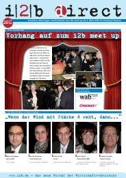 Vorhang auf zum i2b meet up
