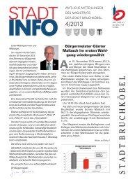 Ausgabe 4-2013:Layout 1.qxd - Stadt Bruchköbel