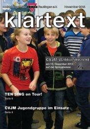 Klartext November 2013 als PDF zum Herunterladen - CVJM ...