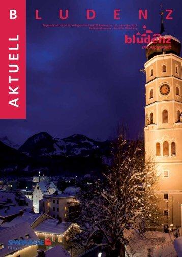 Bludenz Aktuell Nr. 151 2.53 MB - Stadt Bludenz