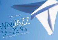 Programmheft - Jazz Förderkreis St. Wendel