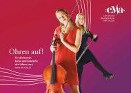 Jahresprogramm 2014 - Carinthische Musikakademie