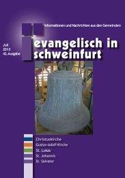 Juli 2013 42. Ausgabe Informationen und Nachrichten - Citykirche ...