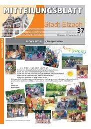 KW37 - Stadt Elzach
