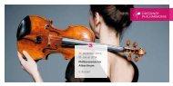 Programmheft (PDF 2.4 MB) - Dresdner Philharmonie