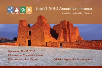 Labs21 2010 Annual Conference - I2SL