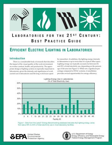EFFICIENT ELECTRIC LIGHTING IN LABORATORIES - I2SL