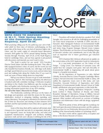SEFA - I2SL
