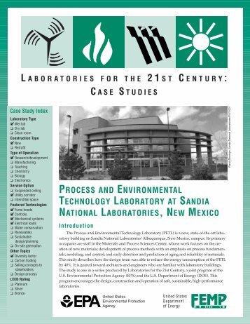 Process and Environmental Technology Laboratory at Sandia ... - I2SL
