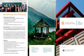 China-Stipendien-Programm