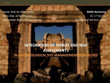 INTEGRATION of THREAT and RISK ASSESSMENTS in ...