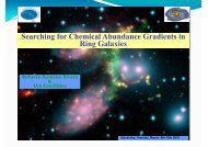 Searching for Chemical Abundance Gradients in Ring Galaxies R b ...