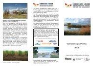 Veranstaltungen Wümme 2012 - Biomaris