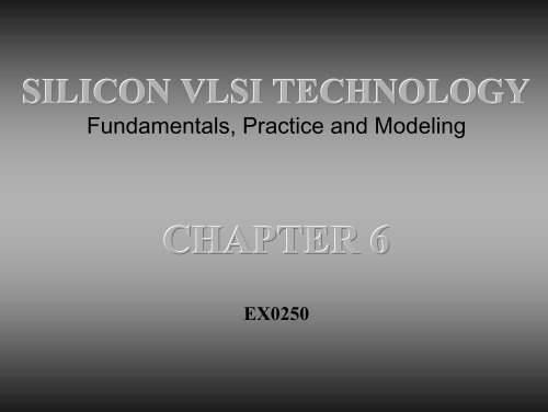 Modeling practice pdf vlsi silicon fundamentals technology and