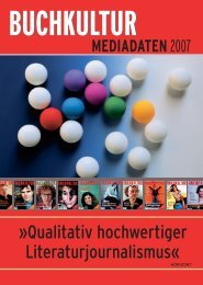 TERMINE 2007 - Buchkultur