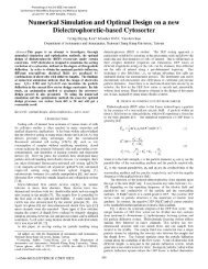 Numerical Simulation and Optimal Design on a new