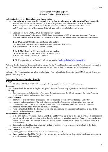 term paper style sheet Apa styles writing a research or term paper in apa format this starter template provides easy access to styles that match apa guidelines.
