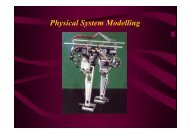 Physical System Modelling