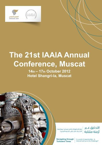 The 21st IAAIA Annual Conference, Muscat - International ...