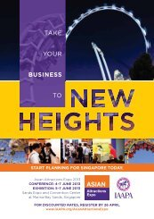 TAKE YOUR BUSINESS TO - IAAPA