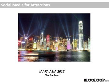 Social Media for Attractions - IAAPA
