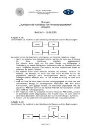 WS04/05 Blatt Nr.5 – 16.06.2005 - IAAS - Universität Stuttgart