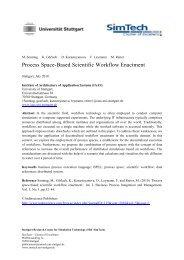Process Space-Based Scientific Workflow Enactment - IAAS