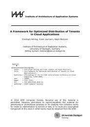 A Framework for Optimized Distribution of Tenants in Cloud ... - IAAS
