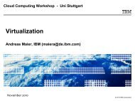 Virtualization - IAAS