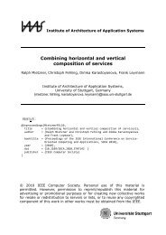 Combining horizontal and vertical composition of services ... - IAAS