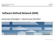 Software Defined Network SDN - IAAS
