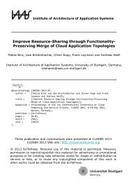 Preserving Merge of Cloud Application Topologies - IAAS