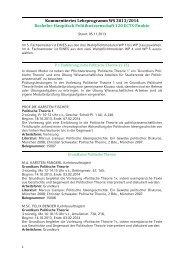 Kommentiertes Vorlesungsverzeichnis WS 2013/14 - Geschwister ...
