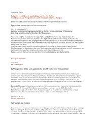 Veranstaltungen Herbst 2013 - Frauenhetz