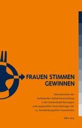 FRAUEN STIMMEN GEWINNEN - Frauenpolitischer Rat Land ...