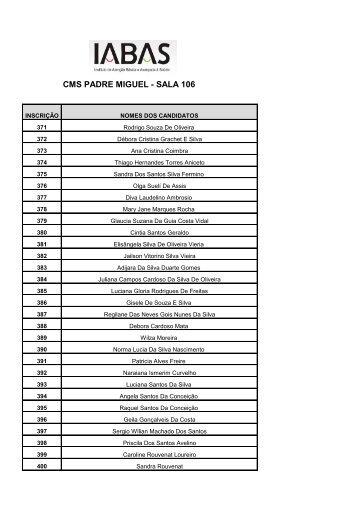 CMS PADRE MIGUEL - SALA 106 - IABAS