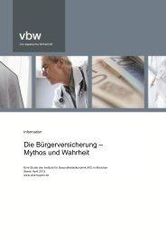 Download PDF - PKV - Verband der privaten Krankenversicherung eV