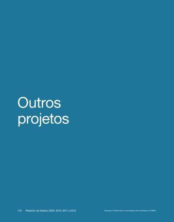 Outros projetos - IABAS