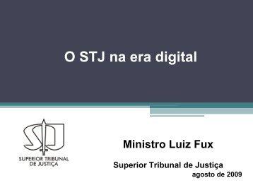 PDF - Apresentação do STJ - Instituto dos Advogados Brasileiros