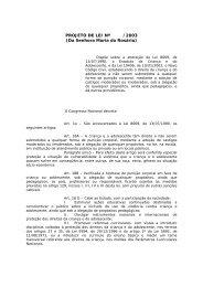 PROJETO DE LEI Nº /2003 (Da Senhora Maria do Rosário)