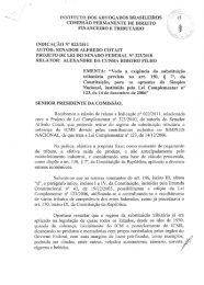 Relator: Dr. Alexandre da Cunha Ribeiro Filho, da Comissão ...