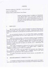 Parecer da Dra. Helen Lima Orleans - Instituto dos Advogados ...