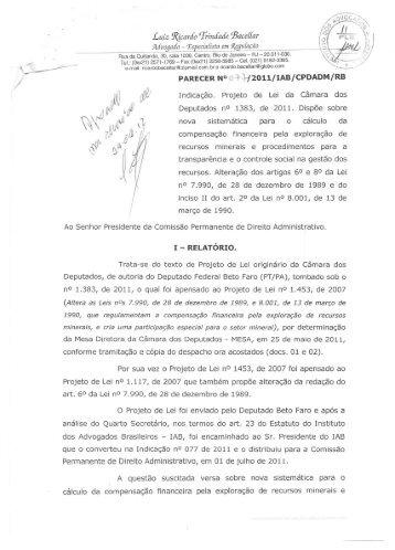 Luiz 1\JcardoTrindade ~aceL[ar - Instituto dos Advogados Brasileiros