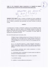 Parecer do Dr. Frederico Price Grechi, da Comissão Permanente de ...