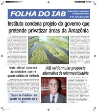 Edição 68 -Abril/Maio - Instituto dos Advogados Brasileiros