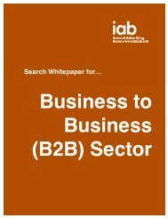 Search Whitepaper for… - IAB UK
