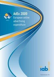 IAB Europe AdEx report 2009 - IAB UK