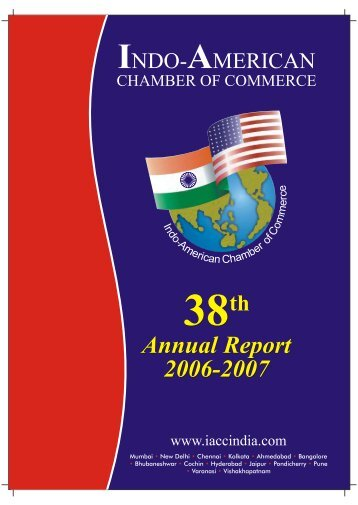 Download Annual Report 2006-2007 - Indo-American Chamber Of ...
