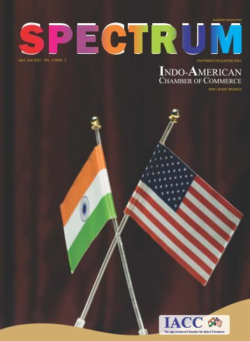 June 2011 VOL - 2 ISSUE - Indo-American Chamber Of Commerce