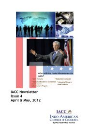 Download the PDF version here - Indo-American Chamber Of ...